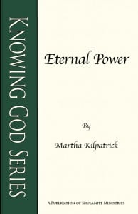 Eternal Power: Knowing God Series